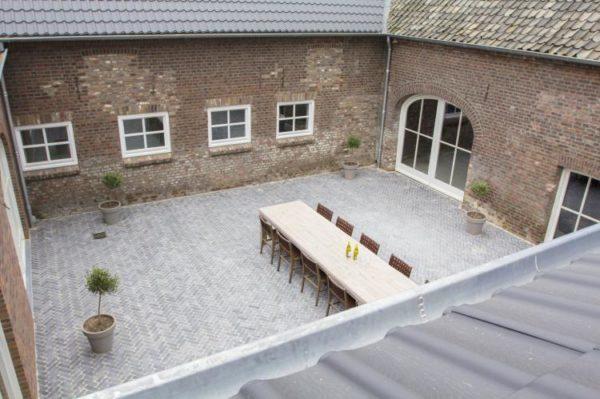 Landgoed de Gunhof - Nederland - Limburg - 52 personen - binnentuin
