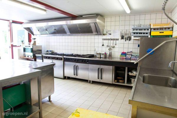 Groepsaccommodatie Sleen - Nederland - Drenthe - 40 personen - keuken