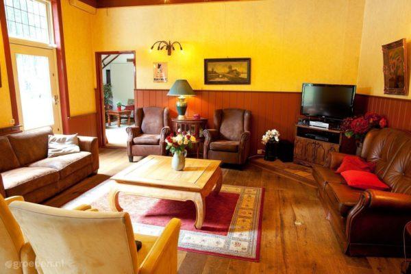 Vakantieboerderij Sleen - Nederland - Drenthe - 47 personen - woonkamer