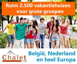 chalet nu grote vakantiehuizen banner